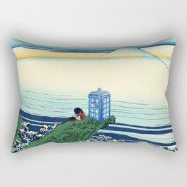 Tardis Wave Rivers Rectangular Pillow