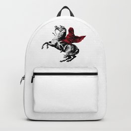 Horse Rider - Banksy graffiti Backpack