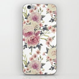 FLORAL PATTERN 5 iPhone Skin