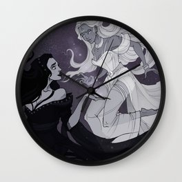 Nyx and Selene Wall Clock