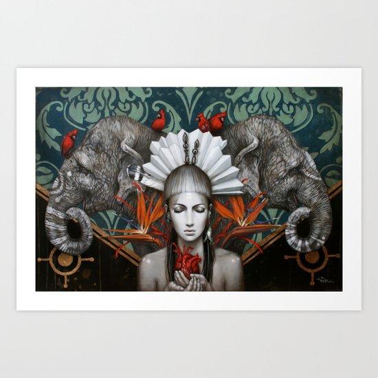Urantia Art Print