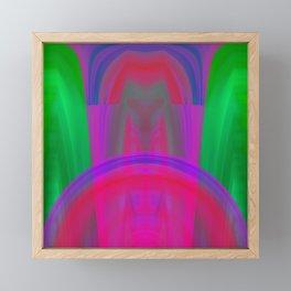Digital driver Framed Mini Art Print
