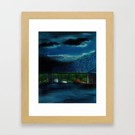 Spring Cass Street Bridge 1 of 4 Framed Art Print