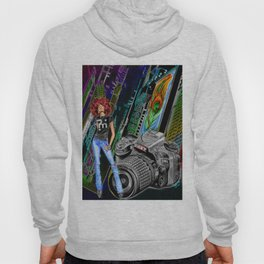 FUNKYTOWN (featuring Sancha McBurnie as a model, along with her photography work) Hoody
