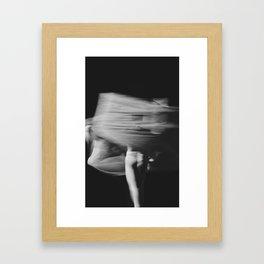 Black & White Dancer I Framed Art Print