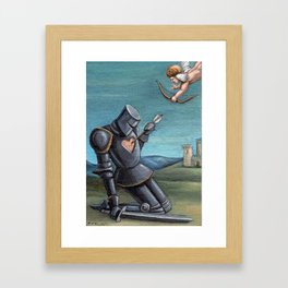 Weak Spot Framed Art Print