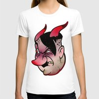 devil T-shirts featuring Devil by Beery Method