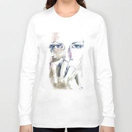 retrato Long Sleeve T-shirt