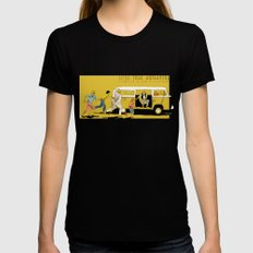 Little Miss Sunshine Womens Fitted Tee Black MEDIUM