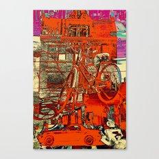 Toronto bicycle dreams Canvas Print