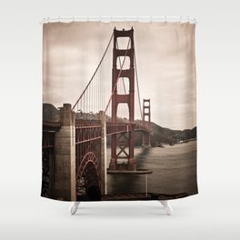 San Francisco, Golden Gate Bridge Shower Curtain