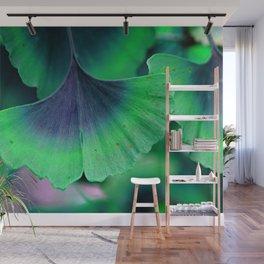 Ginkgo leaf Wall Mural