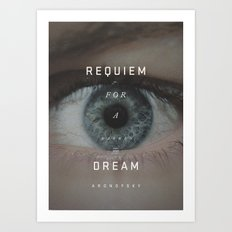 A Movie Poster A Day: Requiem Art Print