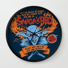 Snaga's BBQ Wall Clock