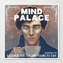 Mind Palace Tea Canvas Print