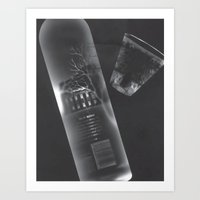 vodka Art Prints featuring Vodka Visions by Andrea Jean Clausen - andreajeanco