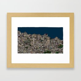 London Favela Framed Art Print