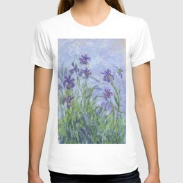 "Claude Monet ""Iris mauves"" T-shirt"