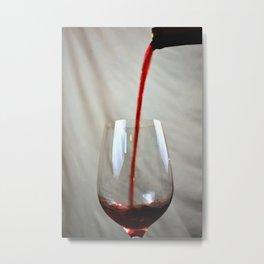 Art Of The Pour Metal Print