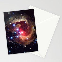 Hubble Space Telescope - V838 Monocerotis Echo (2005) Stationery Cards