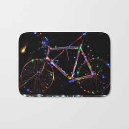 LIGHT UP MY BIKE Bath Mat