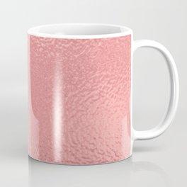 Simply Metallic in Warm Rose Gold Coffee Mug