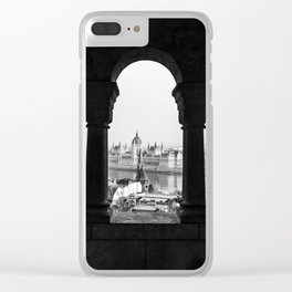 Room with a view. Clear iPhone Case