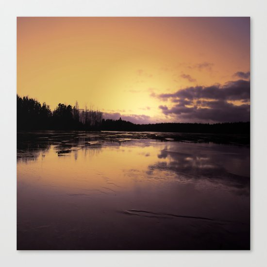 The Radiant Beauty of Nature Canvas Print
