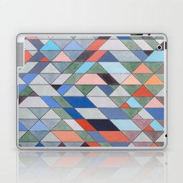 Triangle Pattern No. 7 Diagonals Laptop & iPad Skin