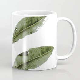 Olive Green Botanical (Color) Coffee Mug