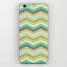 Chevron pattern iPhone Skin