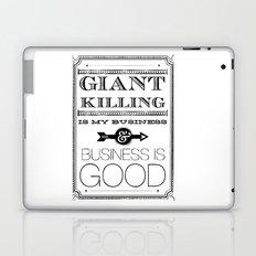 Giant Killing is My Business... Laptop & iPad Skin
