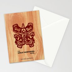 Great Northern Hotel Twin Peaks Stationery Cards