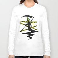 durarara Long Sleeve T-shirts featuring Celty the Dullahan by SamyyChang