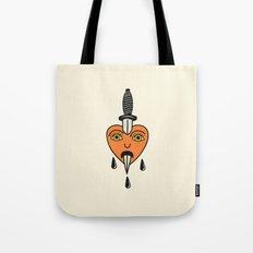 Sentimental Hearts Tote Bag