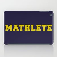 mean girls iPad Cases featuring Mean Girls #9 – Mathlete by Enyalie