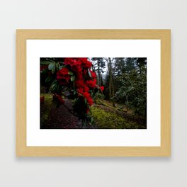 Flowered Tree Framed Art Print