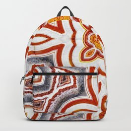 India Print Two Backpack