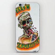 Zombiefied iPhone & iPod Skin