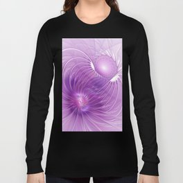 Protection, Abstract Fractal Art Long Sleeve T-shirt