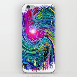 """""""Action Comic Book Cover"""" Print iPhone Skin"""