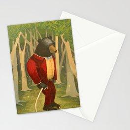 Sharp Dressed Bear Stationery Cards