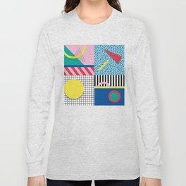 Memphis Party Long Sleeve T-shirt