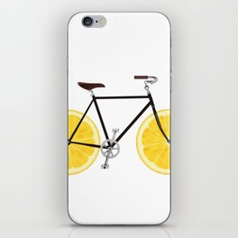 Lemon Bike iPhone Skin