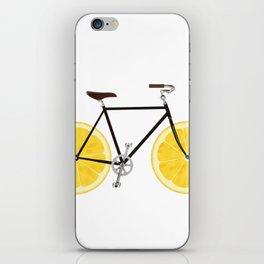 Lemon Bike iPhone Skin