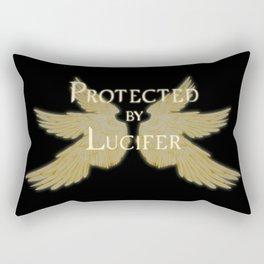 Protected by Lucifer Light Rectangular Pillow