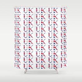 UK 3- London,united kingdom,england,english,british,great britain,Glasgow,scotland,wales Shower Curtain