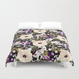 Flowery abstract garden Duvet Cover