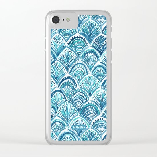 LIKE A MERMAID Clear iPhone Case