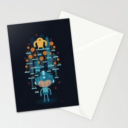 MEGAMAN METTA Stationery Cards